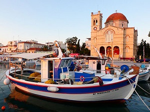 Sailing Greek islands - Greece charter sailing holidays - Aegina Island, Temple of Aphaea Saronic