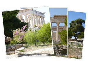 Sailing Greek islands - Greece charter sailing holidays - Aphaia Temple in Aegina island Saronic