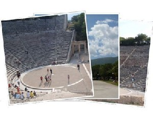 Sailing Greek islands - Greece charter sailing holidays - Epidaurus / Epidaurus Theatre Peloponnese