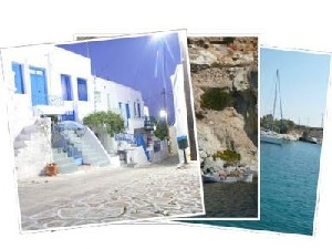 Sailing Greek islands - Greece charter sailing holidays - Kimolos island Cyclades