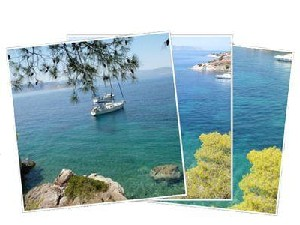 Sailing Greek islands - Greece charter sailing holidays - Kira islet