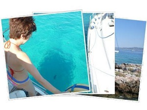 Sailing Greek islands - Greece charter sailing holidays - Lagouses islets Saronic
