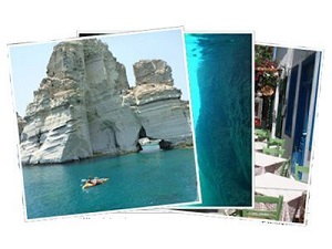 Sailing Greek islands - Greece charter sailing holidays - Milos island Cyclades