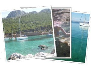 Sailing Greek islands - Greece charter sailing holidays - Moni islet Saronic