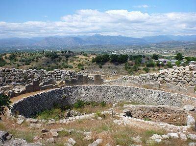 Sailing Greek islands - Greece charter sailing holidays - Sightseeing and Archeology - Mycenae - ruins of Mycenae fortress