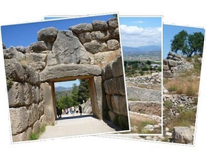 Sailing Greek islands - Greece charter sailing holidays - Mycenes fortress Poloponnese