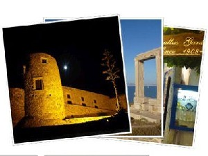 Sailing Greek islands - Greece charter sailing holidays - Naxos island Cyclades