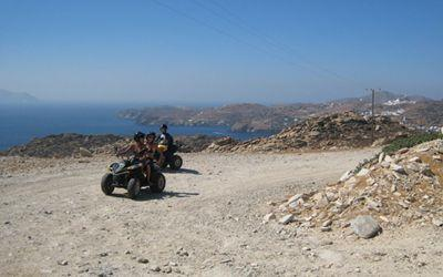 Sailing Greek islands - Greece charter sailing holidays - Other Activities - Quad Bikes in Ios island