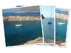 Sailing Greek islands - Greece charter sailing holidays - Patroklos, Cape Sounio, Posseidon's Temple