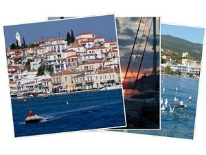 Sailing Greek islands - Greece charter sailing holidays - Poros island Saronic