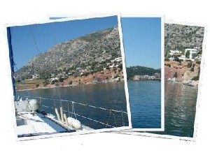 Sailing Greek islands - Greece charter sailing holidays - Salamina island, Dolphins Saronic