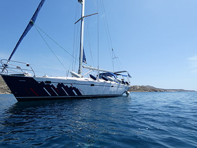 Sailing Greek islands - Greece charter sailing holidays