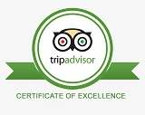 sail Trip Advisor certificate of excelance