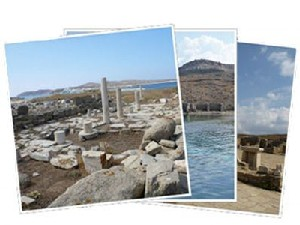 Sailing Greek islands - Greece charter sailing holidays - Delos island Cyclaes