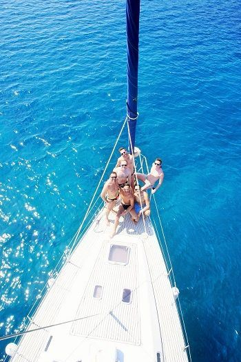 Sailing Greek islands - Greece charter sailing holidays - Gay and Lesbian Friendly vacations in Greece