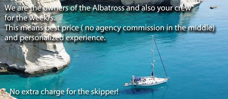 sailboat owners skipperd yacht charter sailing the greek islands