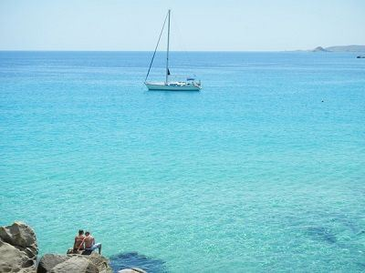 Sailing Greek islands - honeymoon sailing holidays Greece charter sailing holidays