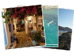 Sailing Greek islands - Greece charter sailing holidays - Kythnos island Cyclades