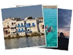 Sailing Greek islands - Greece charter sailing holidays - Mykonos island Cyclaes