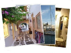 Sailing Greek islands - Greece charter sailing holidays - Paros island Cyclades