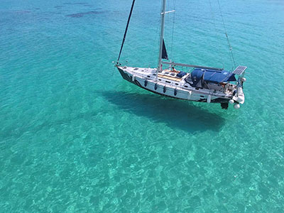 sailboat charter greek islands