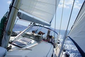 Sailing Greek islands - Greece charter sailing holidays - sailing the greek islands with friends