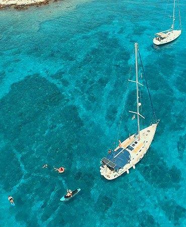 croisiere iles grecques voilier
