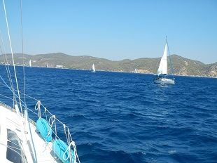Mary - sailing in the greek islands