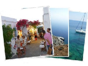Sailing Greek islands - Greece charter sailing holidays - Sifnos island Cyclaes