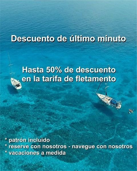 special offer sailing 2020