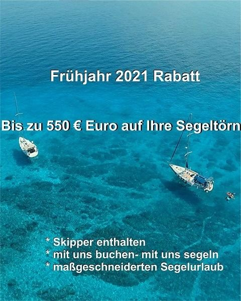 special offer sailing 2021