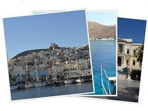 Sailing Greek islands - Greece charter sailing holidays - Syros island Cyclades