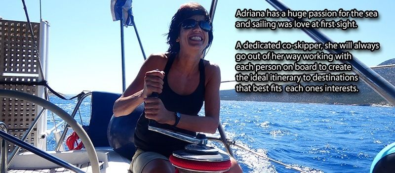 Adriana co skipper your crew albatross