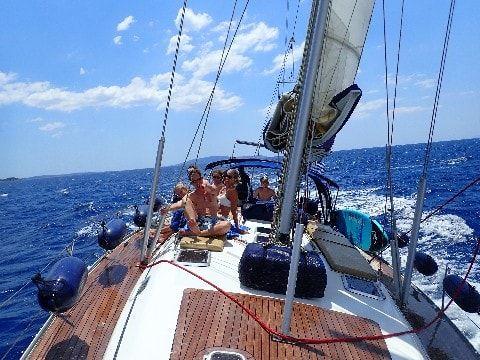 Sailing Greek islands - Greece charter sailing holidays - Contact Us